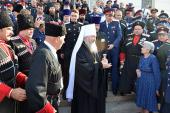 Митрополит Ставропольский Кирилл принял участие в IV Всемирном конгрессе казаков в Новочеркасске