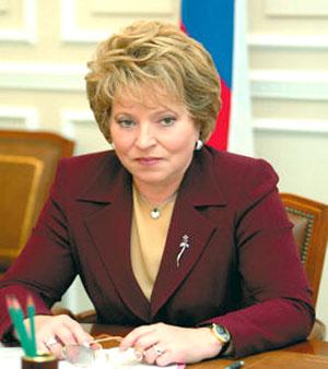 Валентина Матвиенко: «Я категорически против введения в России ювенальной юстиции»