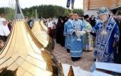 Митрополит Киевский Владимир возглавил торжества в ставропигиальном монастыре в честь Афонской иконы Божией Матери на Житомирщине