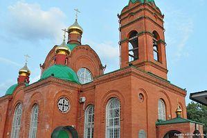 На территории храма Архангела Михаила в Крымске после трагедии был развернут штаб помощи