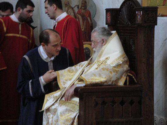 Со Святейшим Каталикосом Патриархом Илией II