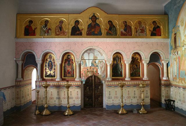 Иконостас Покровского храма