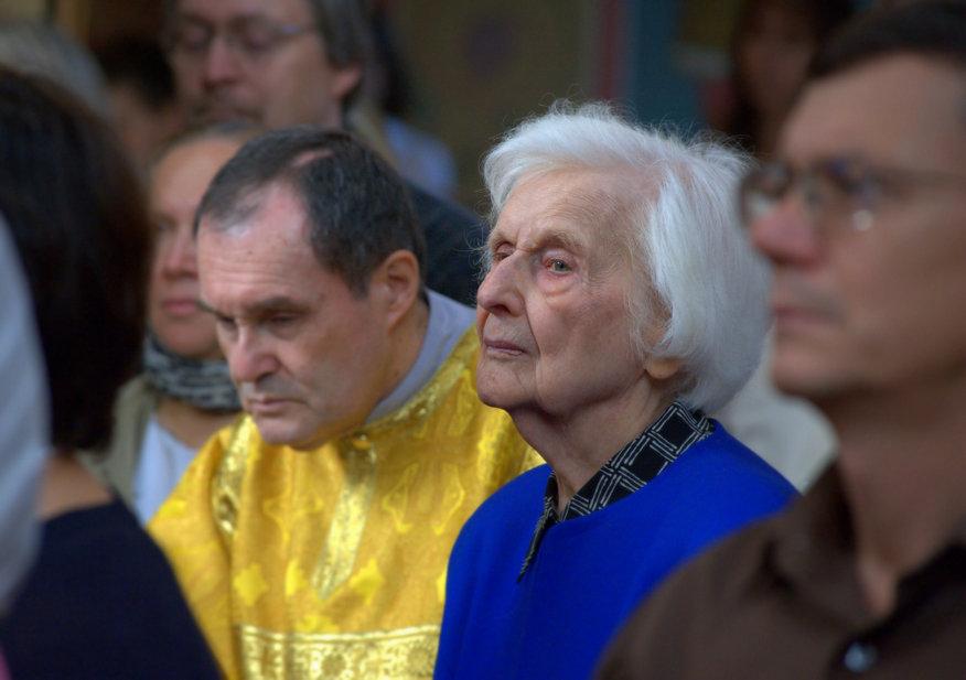 Божественная литургия в Свято-Николаевском соборе Вашингтона