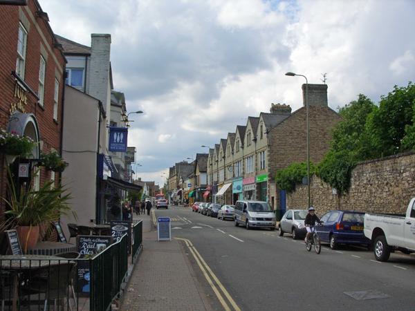 На улицах Оксфорда