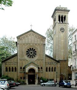 Православная церковь Успения Божией Матери и всех святых в Лондоне