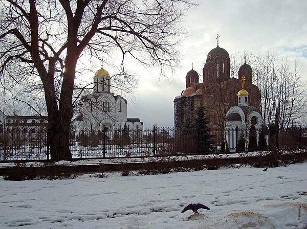 Панорама храмового комплекса.