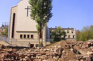 Археологи обнаружили римскую мозаику в центре Софии