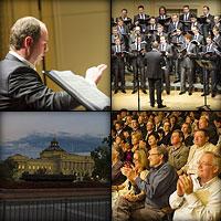 Концерт хора Сретенского монастыря в Библиотеке Конгресса США