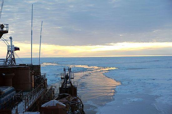 Лед в Арктике в этом году аномально тонок. Фото: епископ Нарьян-Марский и Мезенский Иаков