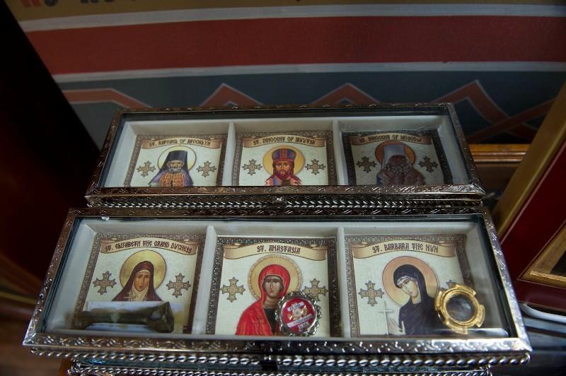 Святыни собора. Фото: М. Родионов / Православие.Ru