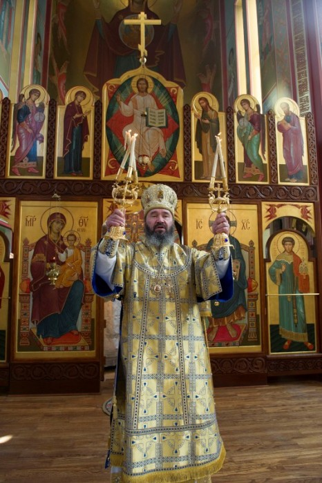 Архиепископ Наро-Фоминский Юстиниан. Фото: М. Родионов / Православие.Ru