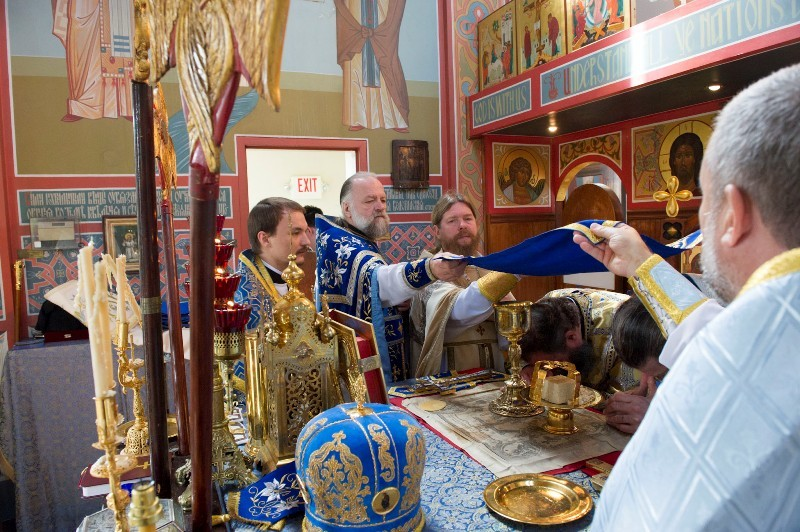 Два православных богослужения в Вашингтоне.  Фото: М. Родионов / Православие.Ru