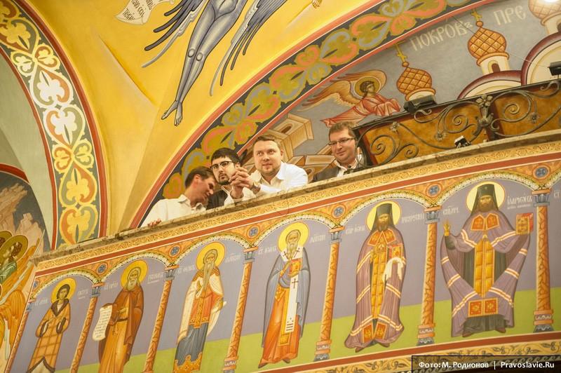 Хор Сретенского монастыря. Фото: М. Родионов / Православие.Ru