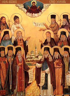 Собор преподобных старцев Оптинских. Память 11/24 октября