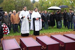 В Эстонии состоялось отпевание 122 бойцов Великой Отечественной войны