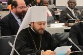 Митрополит Волоколамский Иларион выступил на заседании III Комитета ООН