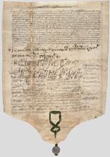 Грамота Константинопольского собора об основании Московского Патриархата, май 1590 года