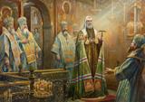 Нестеренко В. Настолование патриарха Тихона, 2011 г.