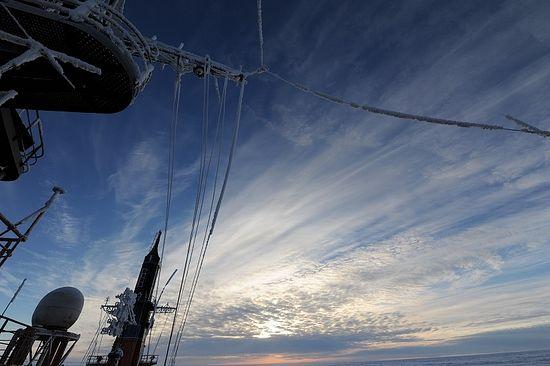 Небо Арктики. Фото: епископ Нарьян-Марский и Мезенский Иаков