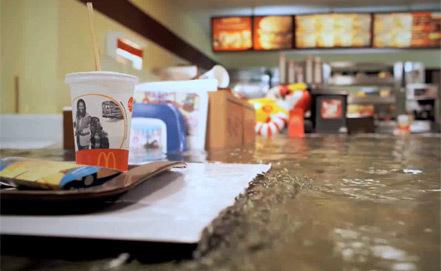 Затопленный МакДональдс