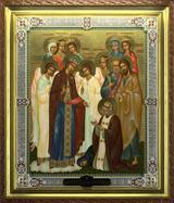 Явление Богородицы преподобному Серафиму Саровскому