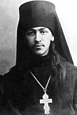 Иеромонах Нестор (Анисимов), камчатский миссионер. Фото 1907 г.