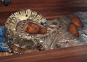 Гефсиманская Плащаница Пресвятой Богородицы