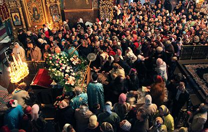 Святыня в Черкасском Свято-Михайловском соборе