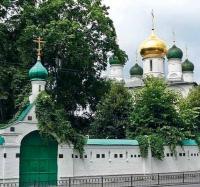 Sretensky Monastery, Moscow.