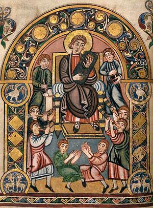 А Давид и все сыны Израилевы играли пред Господом на всяких музыкальных орудиях из кипарисового дерева, и на цитрах, и на псалтирях, и на тимпанах, и на систрах, и на кимвалах. 2 Цар. 6:5