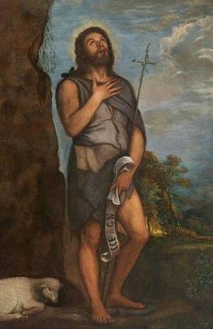 """картина """"Иоанн Креститель"""", более 120 лет хранившаяся в церковном приходе в испанском городе Альмерия"""