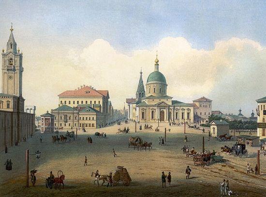 Храм святого великомученика Димитрия Солунского у Тверских ворот и Страстной монастырь