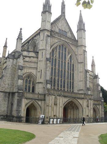 Винчестерский кафедральный собор (фото - И. Лапа)