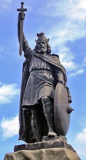 Статуя св. Альфреда Великого в Винчестере