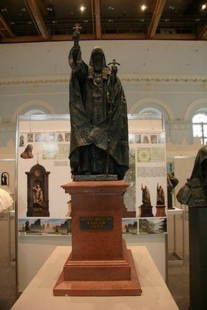 Проект памятника Патриарху Гермогену, победивший в конкурсе