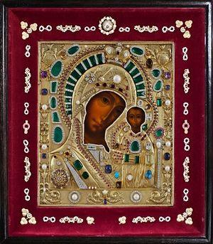Список Казанской иконы Божией Матери, подаренный папой Иоанном-Павлом II