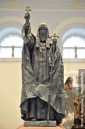 Проект памятника патриарху Ермогену, занявший первое место. Фото: А. Поспелов / Православие.Ru