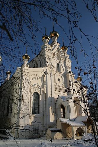 Озерянский храм в Покровском монастыре г. Харьков