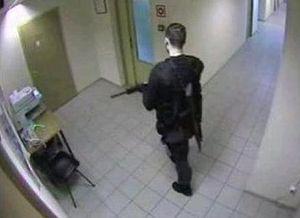 Дмитрий Виноградов. Запись камеры наблюдения