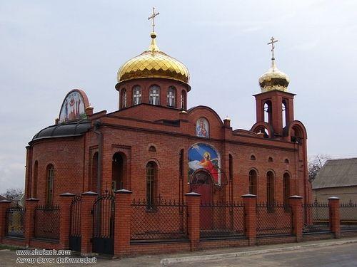 Озерянский храм с. Буды Харьковской обл.
