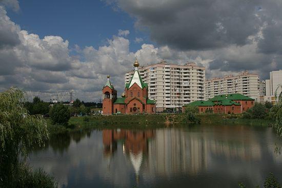 Храм всех Святых в земле Российской просиявших в Новокосино. Фото: 200hramov.ru