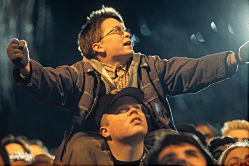 "Кадр из фильма ""Великан"". США. 1998 год. Реж. Питер Челсом"