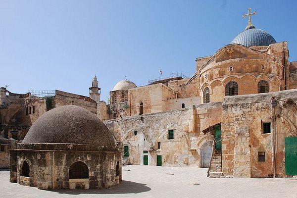 Храм Воскресения Христова, Иерусалим. Фото: А. Поспелов / Православие.Ru