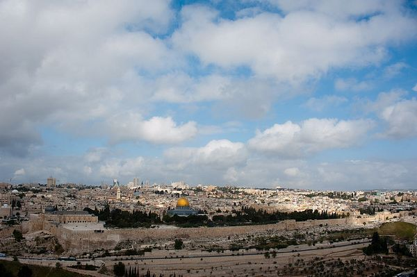 Вид на старый город. Иерусалим. Фото: Г. Балаянц / Православие.Ru