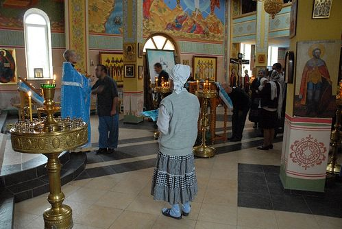 Храм архангела Михаила в Грозном, Чечня