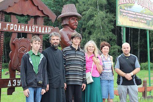 В паломничестве с прихожанами в Белоруссии
