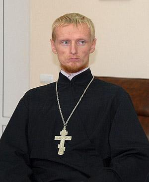 Священник Григорий Куценко, настоятель храма архангела Михаила в Грозном (Чечня)