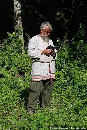 Молитва школьного директора. Фото: А. Поспелов / Православие.Ru