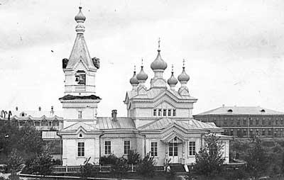 Храм Анны Пророчицы Яранского Пророчицкого монастыря