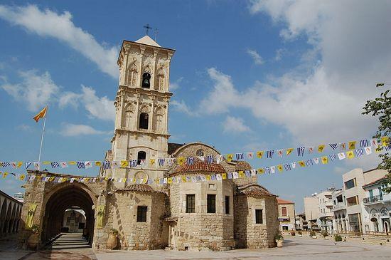 Ларнака, Кипр. Церковь святого Лазаря